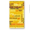 Retro 51 Tornado Birthday Greetings Yellow Rollerball Pen