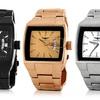 Gianello Men's Square-Dial Watch