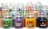 Yankee Candle Six Medium Jars
