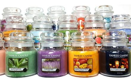 Yankee Candle SixPack of Assorted Medium Jars