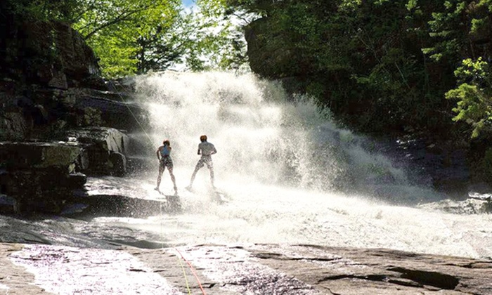 Northeast Mountaineering - Bunkhouse: Waterfall Rappelling Adventure from Northeast Mountaineering (Up to 54% Off). Four Options Available.