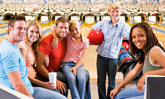 Freeway Lanes Bowling Group - Multiple Locations: Bowling with Shoe Rental for Two or Six at Freeway Lanes (Up to 74% Off)