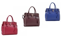 GROUPON: Ruby Blue Couture Jenna Tote Ruby Blue Couture Jenna Tote