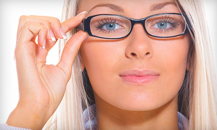 ClearVision Eye Care - North Westminster: Eye Exam with Option of $110 Toward Glasses, Contact-Lens Package, or Both at ClearVision Eye Care (Up to 82% Off)