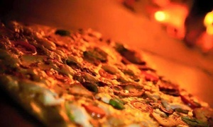 Scoops: Pizza or Pasta for Two or Four with Optional Meat Sharing Platter at Scoops Diner (Up to 53% Off)