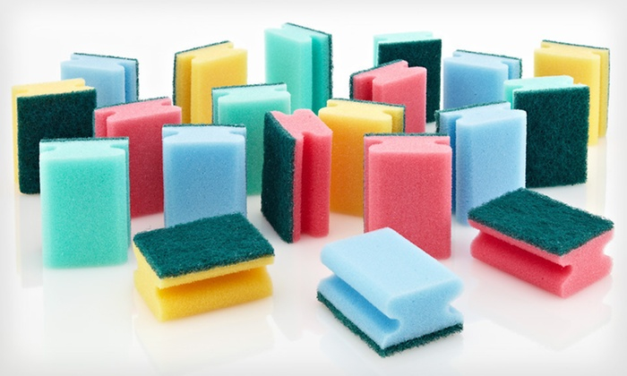 20-Pack of 3M Multipurpose Sponges: $7.99 for a 20-Pack of 3M Multipurpose Sponges ($34.98 List Price). Free Returns.