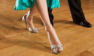 May I Have This Dance: Four-Week Ballroom, Latin, or Swing Dance Classes for One or Two at May I Have This Dance (Up to 55% Off)