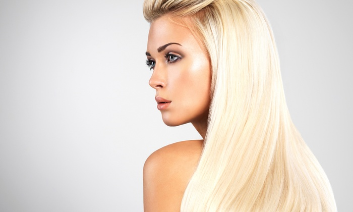Tracy Castaneda at Beauty Hub  - Mission: Keratin Treatment or Haircut Package with Shampoo and Style at Tracy Castaneda at Beauty Hub (Up to 66% Off)