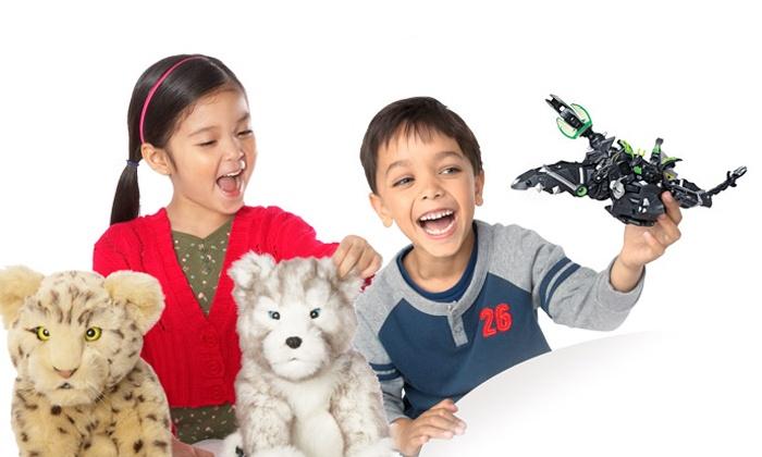 eToys.com: $20 for $40 Worth of Kids' Toys at eToys.com