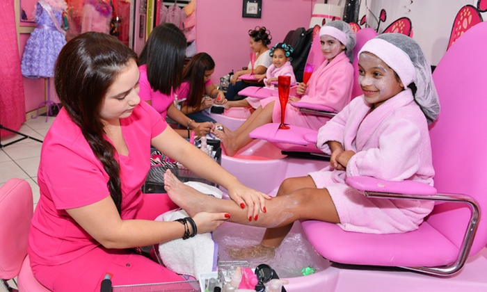 Mother Daughter Spa Day Mommy Amp Me Salon Groupon