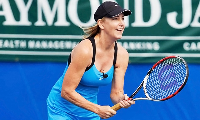 Chris Evert/Raymond James Pro-Celebrity Tennis Classic - Delray Beach Tennis Center: General Admission or Club Level Ticket to Chris Evert/Raymond James Pro-Celebrity Tennis Classic (Up to 50% Off)