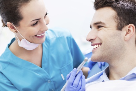 $49 for a Dental Exam, XRays, and Teeth Cleaning at Homerun Dental ($250 Value)