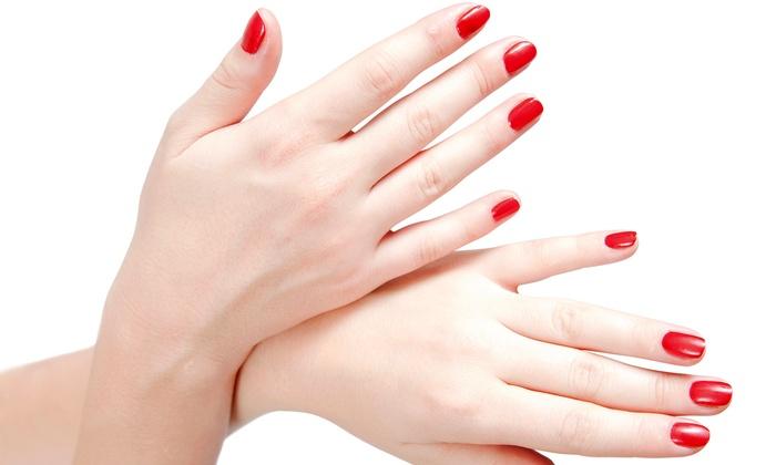 Lotus Nails And Waxing - Brighton: Two Spa Manicures from Lotus Nails and Waxing (50% Off)