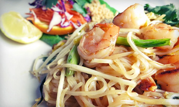 Mthai - Caughlin Ranch: Thai Lunch or Dinner at Mthai (Half Off)