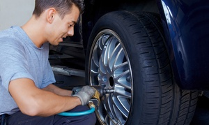 Ratchet Motorsports LLC: Tire Balancing, Tire Rotation, or One Hour of Labor at Ratchet Motorsports LLC (50% Off)