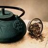 Japanese-Style Tetsubin Cast-Iron Teapot
