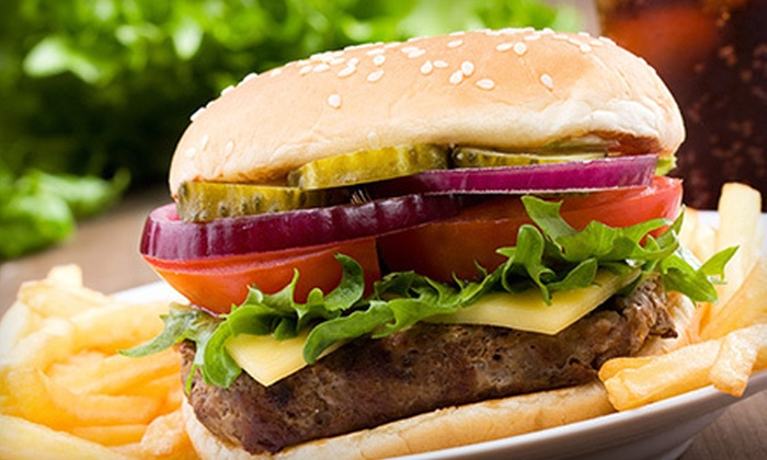 George's Steakhouse Bar & Grill - Modesto: $10 for Two Sandwiches or Burgers for Lunch at George's Steakhouse Bar & Grill (Up to a $25.98 Value)