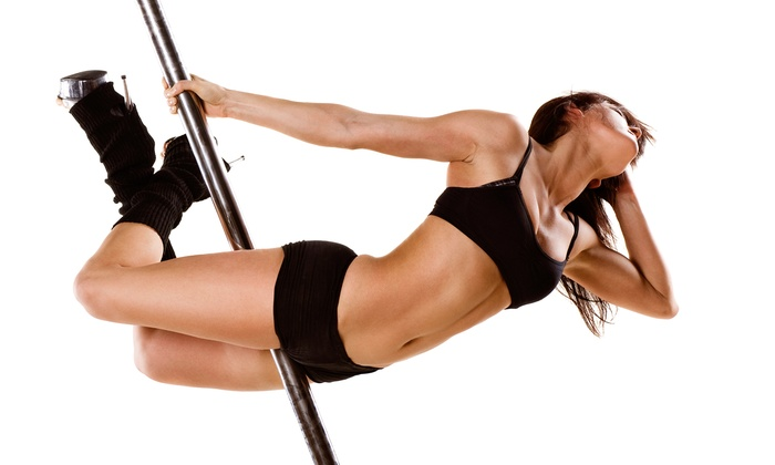 PoleFly Aerial Fitness - Wooster Square - Mill River: Pole Fitness Classes  at PoleFly Aerial Fitness  (Up to 67% Off). Three Options Available.