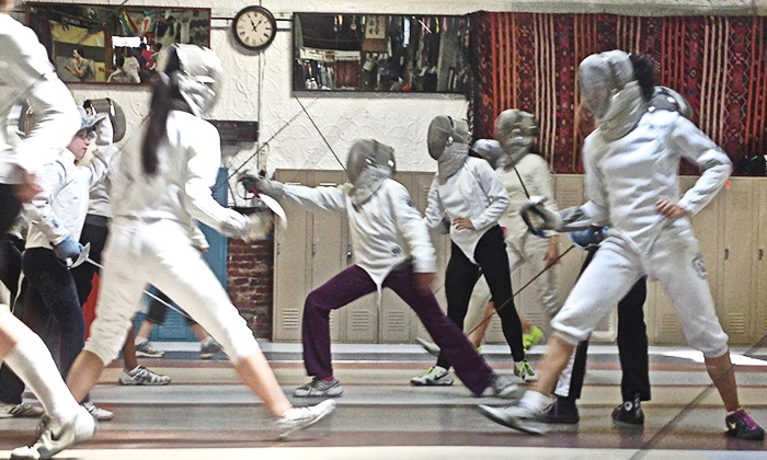 Moe Wen Fencing Club - Winter Hill: 1-Month Membership or 6-Week Intro Fencing Class at Moe Wen Fencing Club (Up to 59% Off). Five Options Available.
