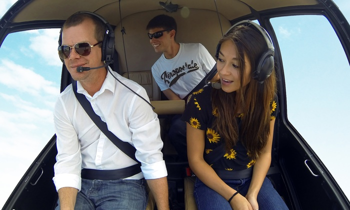Air Adventures LLC - Air Adventures, LLC: $169.99 for a Key West Helicopter Tour Package for Up to 3 from Air Adventures LLC (Up to $332 Value)