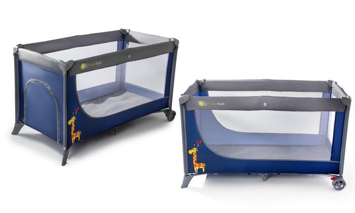 kinderkraft baby reisebett joy groupon goods. Black Bedroom Furniture Sets. Home Design Ideas