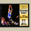 Stephen Curry Golden State Warriors Photo Stat Plaque