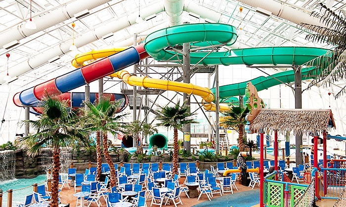 Watiki Indoor Water Park - Rapid City: Admission for Two or Four with Sliders Restaurant Voucher at WaTiki Indoor Water Park (Up to 38% Off)