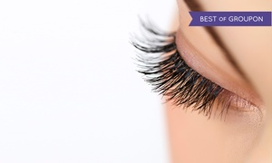 Vortex Advanced Esthetics: Full Set of Eyelash Extensions with One or Three Fills at Vortex Spa (Up to 78% Off)