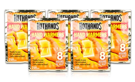 5 Pairs of HotHands Hand Warmers