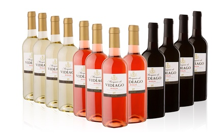 12 Bottles of Marques De Vidiago Rioja Wines in White, Red, Rose or Mixed for £54.99 With Free Delivery (54% Off)