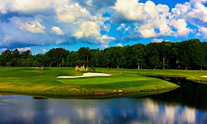 Heron Ridge Golf Club - Virginia Beach: Three Green Fees, One Cart Fee, and Three Buckets of Range Balls at Heron Ridge Golf Club