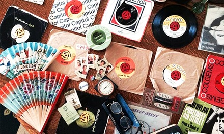 $15 for $25 Worth of Records, Antiques, and Vintage Clothing at Carpe Diem