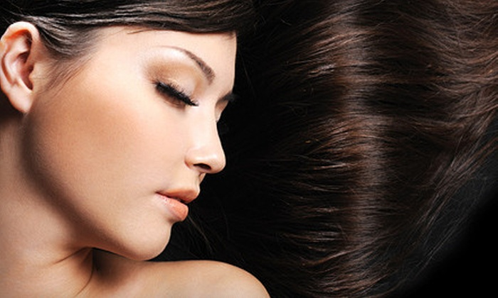 Blowout Salon - Virginia Beach: Haircut and Conditioning, All-Over Color, or Partial Highlights and Toner at Blowout Salon (Up to 55% Off)