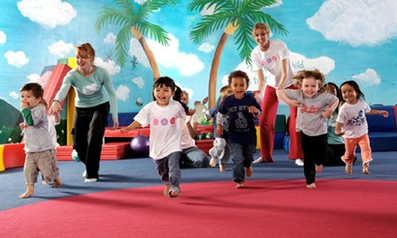 Lifetime Family Membership with 4 Classes and Play Sessions for 1, 2, 3, or 4 Kids at My Gym (Up to 75% Off)