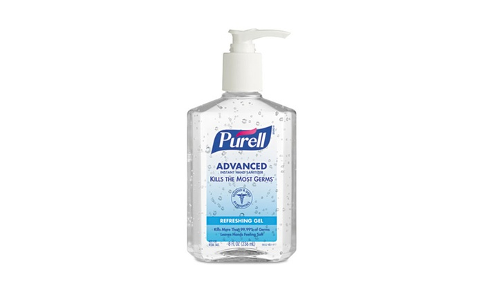Purell Instant Hand Sanitizer (12 Bottles): 12-Pack of Purell Instant Hand Sanitizer; 8 fl. oz. Per Bottle