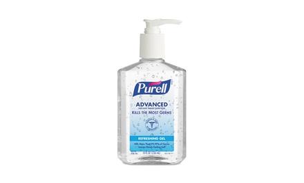 12-Pack of Purell Instant Hand Sanitizer; 8 fl. oz. Per Bottle