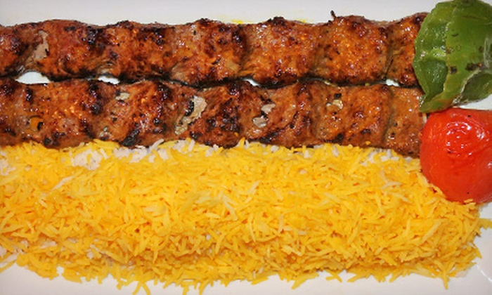 Rose Restaurant - Teaneck: Persian Dinner for Two or Four at Rose Restaurant (Half Off). Four Options Available.