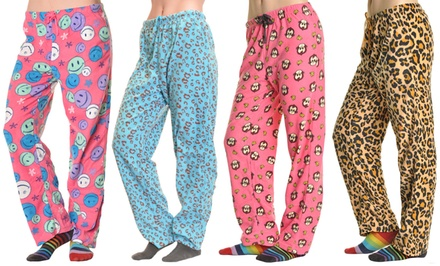 Angelina Cozy Fleece Women's Pajama Pants