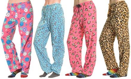 Angelina Cozy Fleece Women's Pajama Pants
