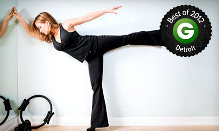 Pure Element Pilates - West Bloomfield: 5 or 10 Barre or Mat Pilates Classes at Pure Element Pilates (Up to 61% Off)
