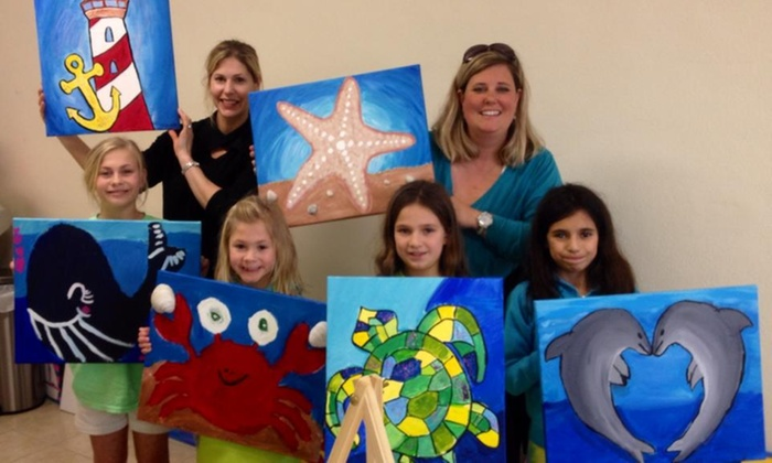 Painting In Paradise - South Padre Island: $50 for $90 Worth of Event Equipment Rental — Painting In Paradise