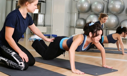 3, 5, or 10 Personal Training or Small-Group Exercise Sessions at The Posture Bar (Up to 71% Off)