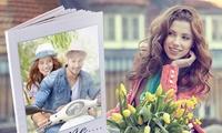 Livre photo A4 vertical personnalisable avec la couverture rigide de 28, 40, 60 et 100 pages dès 8,49 €