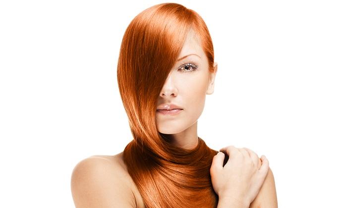 Questione Di Stile - Milano: 3 o 6 pieghe per capelli con uno o 2 tagli in piazzale Piola (sconto 77%)