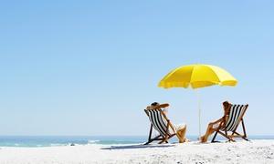 Elmi (Ostia Lido): Ingresso in spiaggia con lettini e ombrellone per 2 persone da Elmi (Ostia Lido) (sconto fino a 60%)