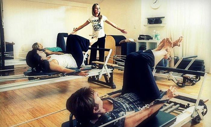 Villa Pilates & Yoga - Lido Isle: 5 Group Reformer Pilates Classes or 10 Group Yoga Classes  at Villa Pilates & Yoga in Newport Beach (Up to 82% Off)