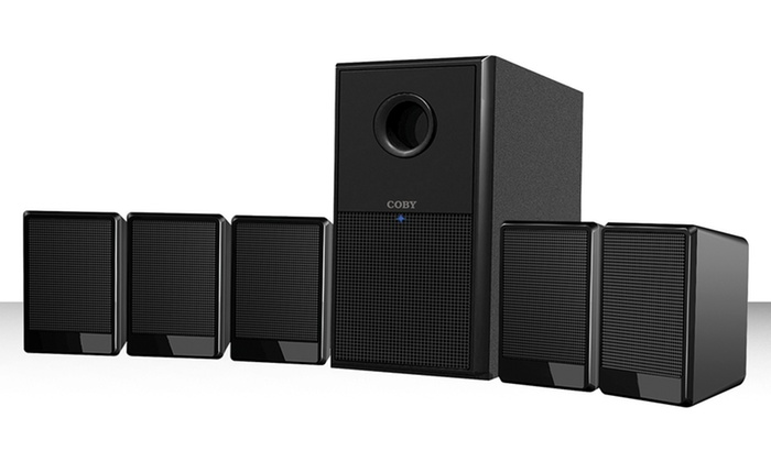 Coby 5.1-Channel Speaker System (CSP97): Coby 5.1-Channel Home-Theater Speaker System (CSP97). Free Shipping and Returns.