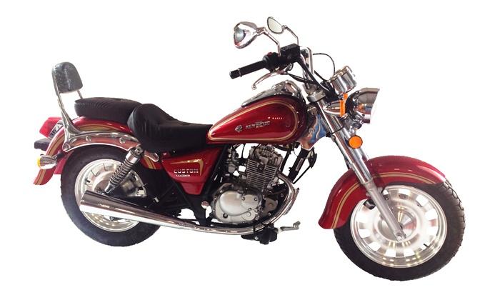 moto 125 custom