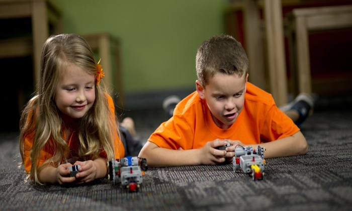 Bricks 4 Kidz - Multiple Locations: 1 Week or Half-Day Summer Camp or 1, 2, or 3 Weeks of Full-Day Summer Camp at Bricks 4 Kidz (Up to 50% Off)