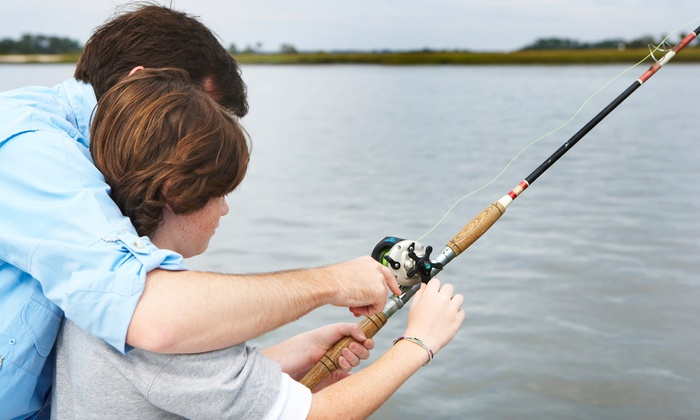 Fisherman's Wharf - Fisherman's Wharf: Half- or Full-Day Fishing Trip with Rods for Two from Fisherman's Wharf (50% Off)
